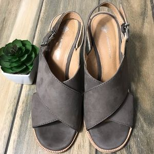 Antonio Melani wedge sandals